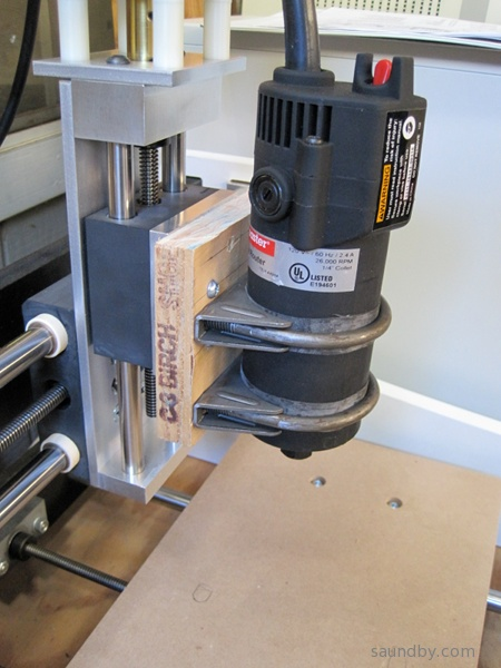 Harbor Freight Spindle Mount For K2cnc Hole Pattern