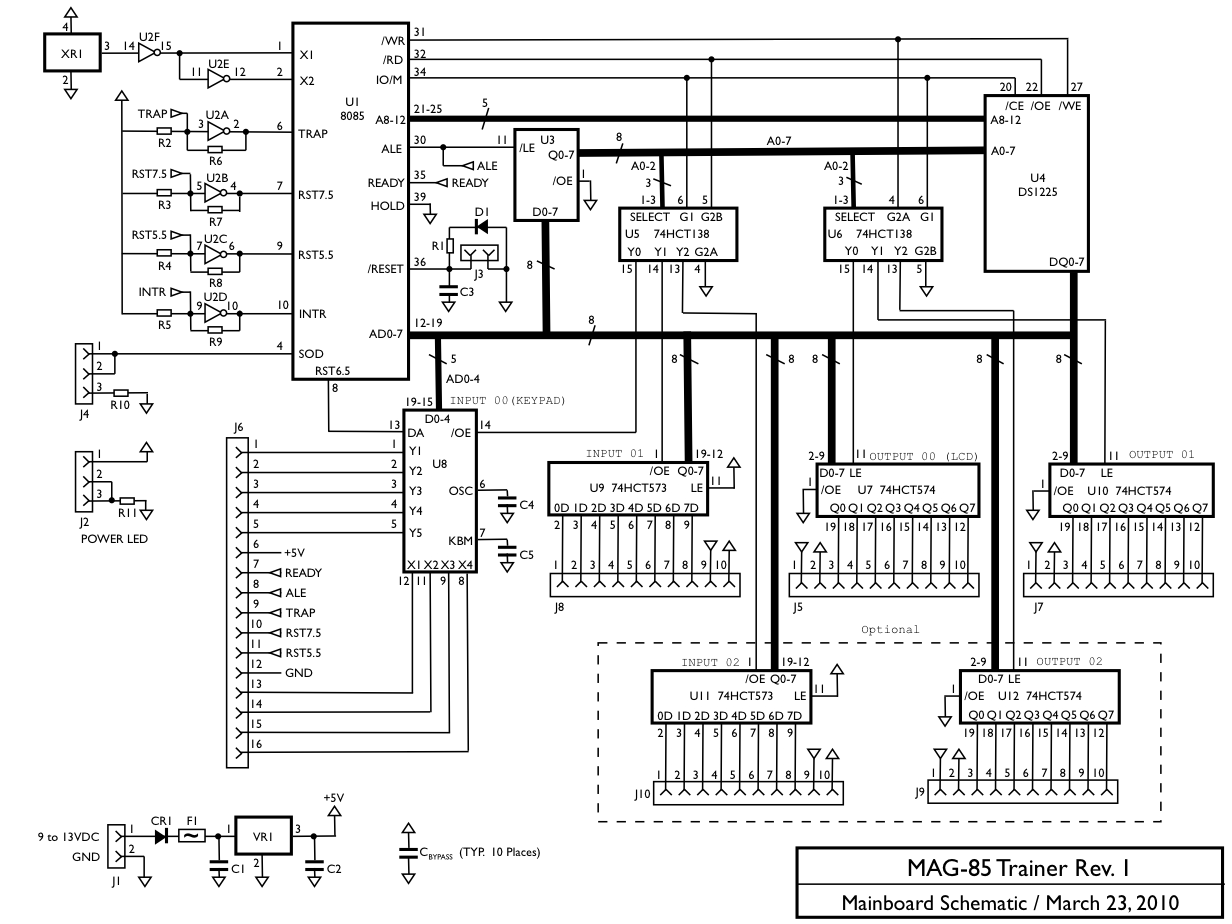 MAG-85 circuit schematic